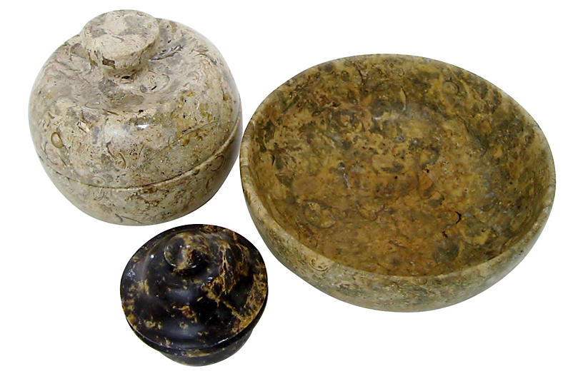 Small carved stone vessels s retro gallery brands