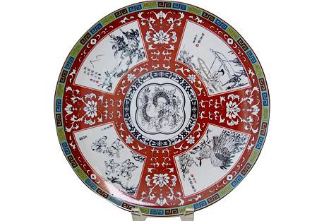 Decorative Porcelain Platter