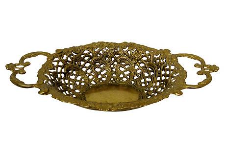Brass Openwork Bowl