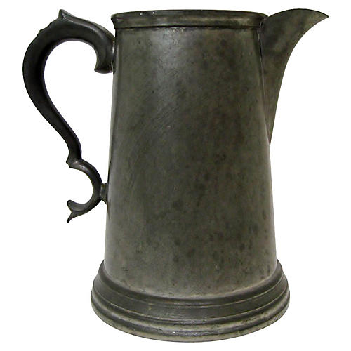 Sheffield Pewter Pitcher