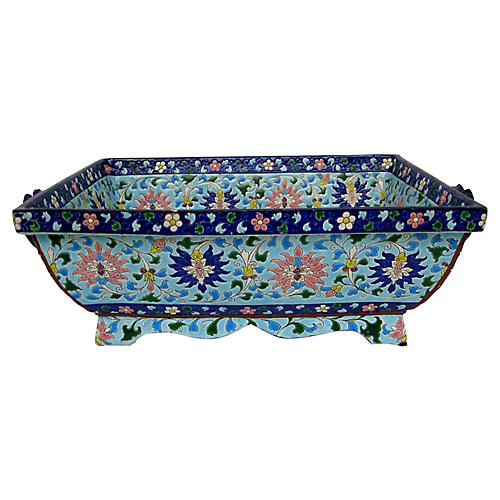 French Faience Jardiniere