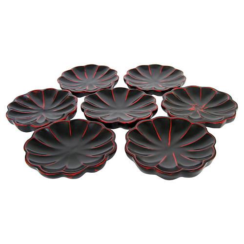 Japanese Plates, S/7