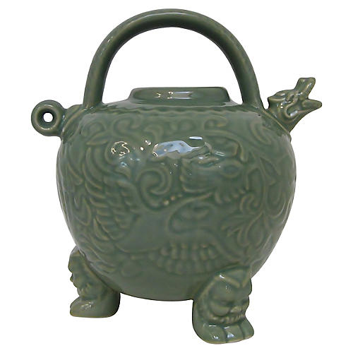 Celadon Footed Pitcher
