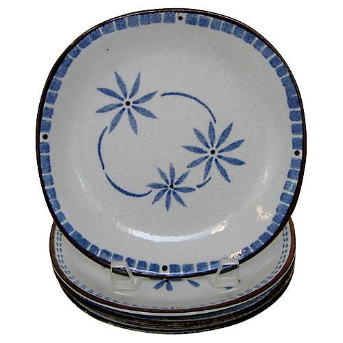 Japanese Salad Plates, S/4