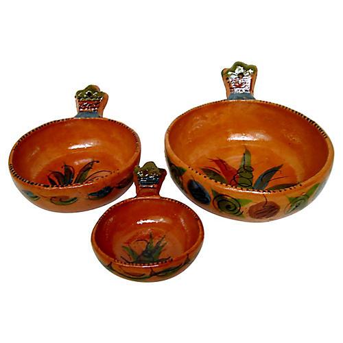 Ceramic Nesting Bowls, S/3