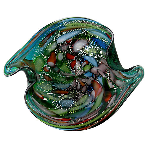 1950s Murano Centerpiece Bowl