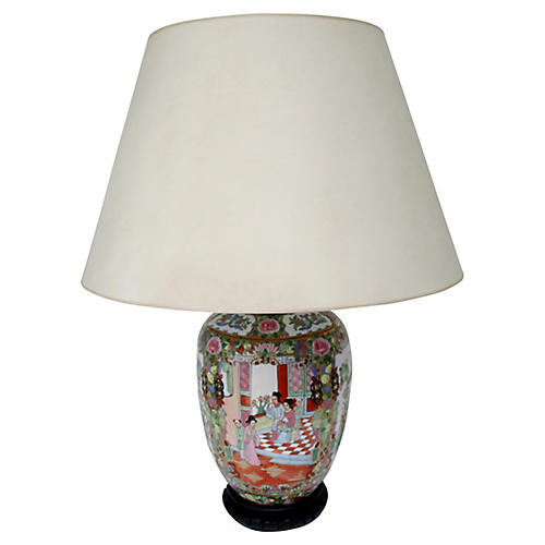 Famille Rose Table Lamp