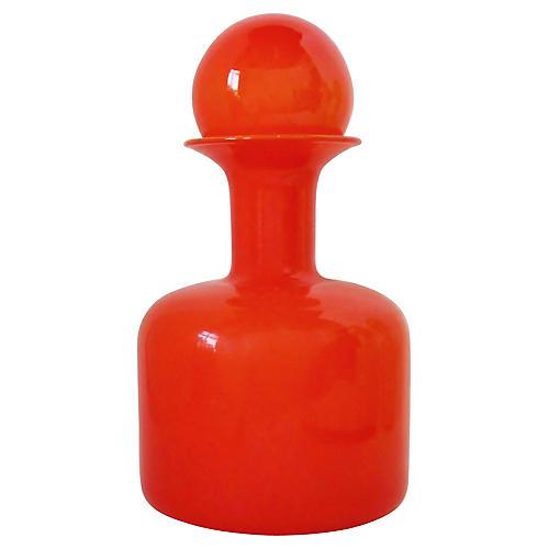 Otto Brauer Orange Vase