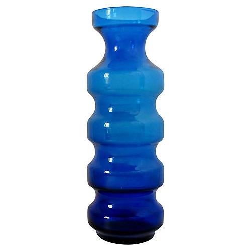 Scandinavian Glass Hoop Vase