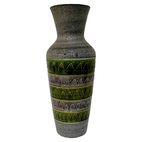 Bodo Mans for Bay Keramik Floor Vase