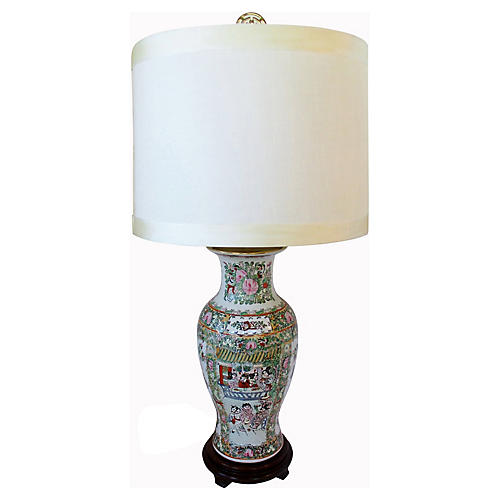 Famille Vert Table Lamp