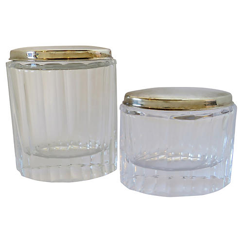 Plata Lappas Jars, Set of 2