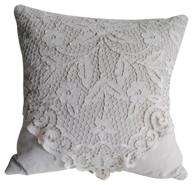 Point de Venise   Pillow