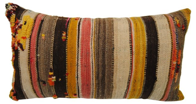Moroccan Striped   Pillow