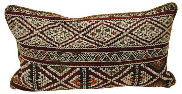 Handloomed Moroccan Pillow