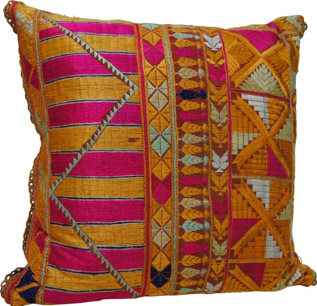 Indian Phulkari                 Pillow