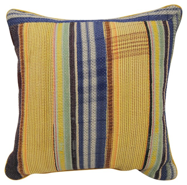 Patchwork   Gypsy Quilt Pillow