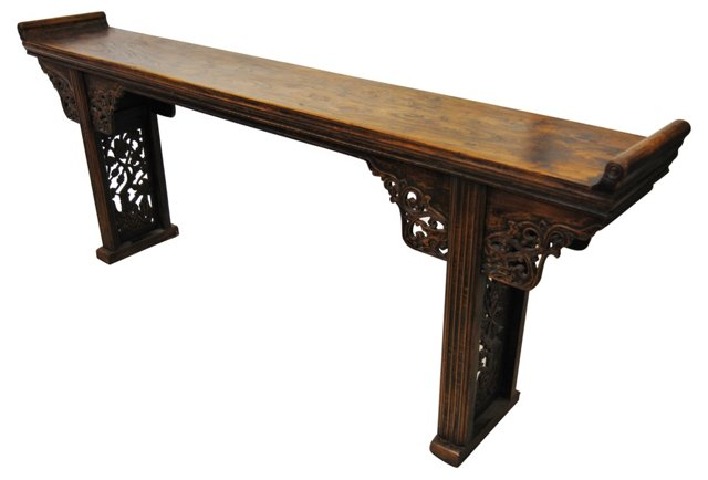 Mid-19th-C.   Chinese Altar Table