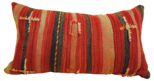 Moroccan Wool Stripe Pillow