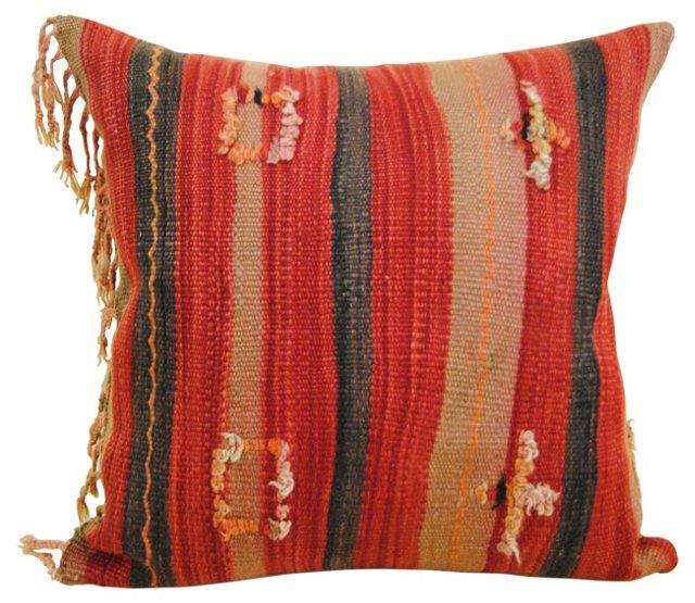 Moroccan Pillow w/   Stripes
