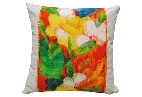 Handloomed Silk   Obi Pillow