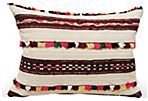Moroccan Wedding Shawl  Pillow