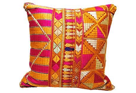 Phulkari  Bagh  Pillow