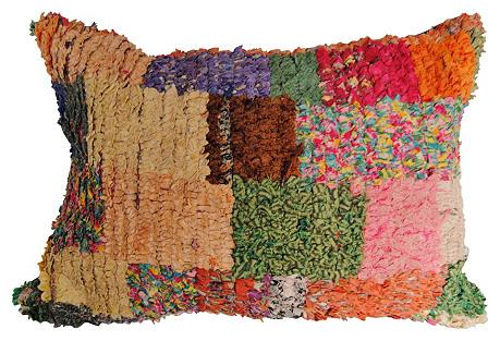 Handloomed Moroccan Bouchouite Pillow