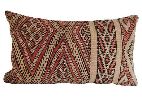 Handloomed Wool Moroccan Pillow