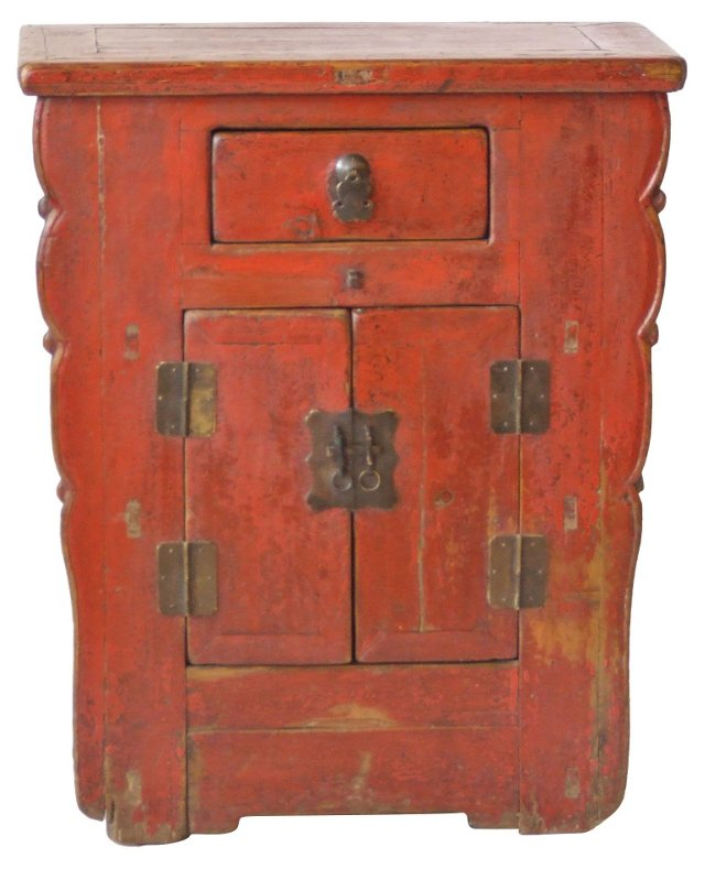 Red Chinese Cabinet, 1850