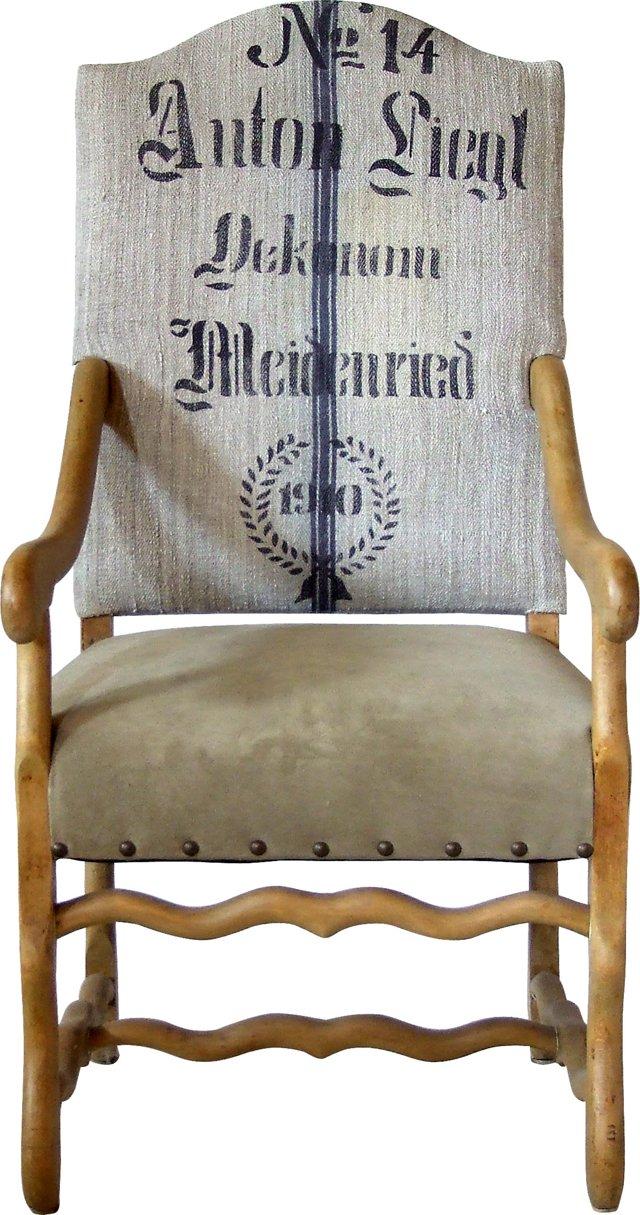 German Grain-Sack Chair, No. 14