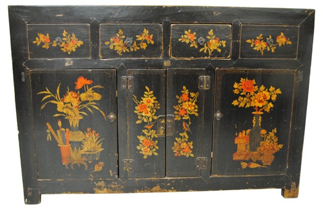 Chinese Antique Manchurian Cabinet