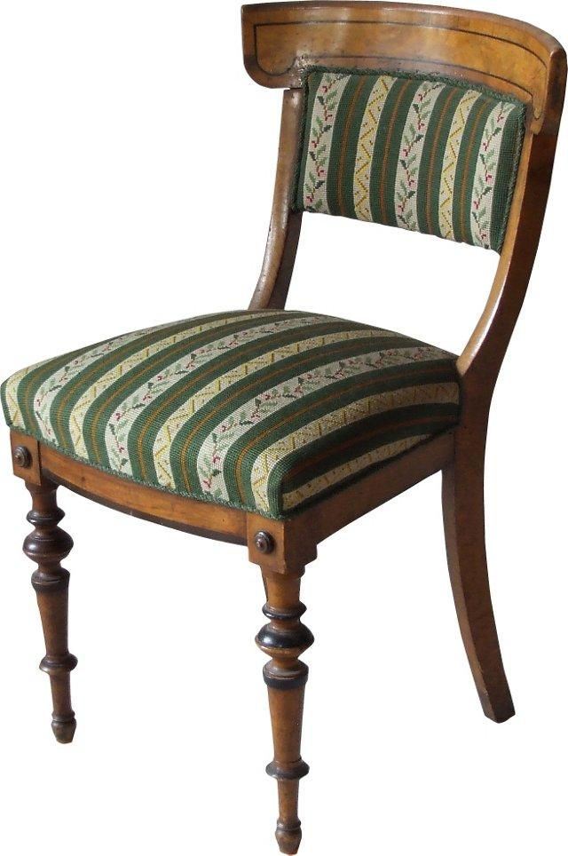 Antique Swedish Biedermeier-Style Chair