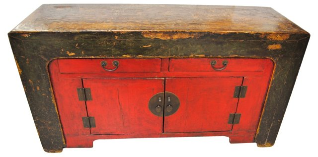 Late-18th-C. Chinese Cabinet