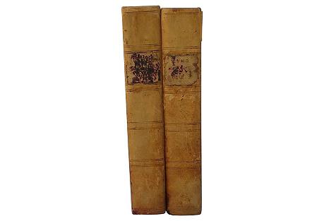 Byrth, Lyf & Actes of Kyng Arthur, 2 Vol