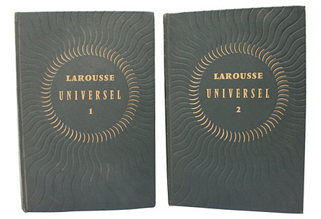 Larousse French Dictionary, 2 Vols