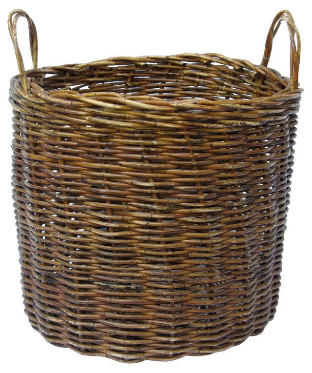 Oversize French Market Basket