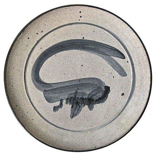 Art Studio Stoneware Platter