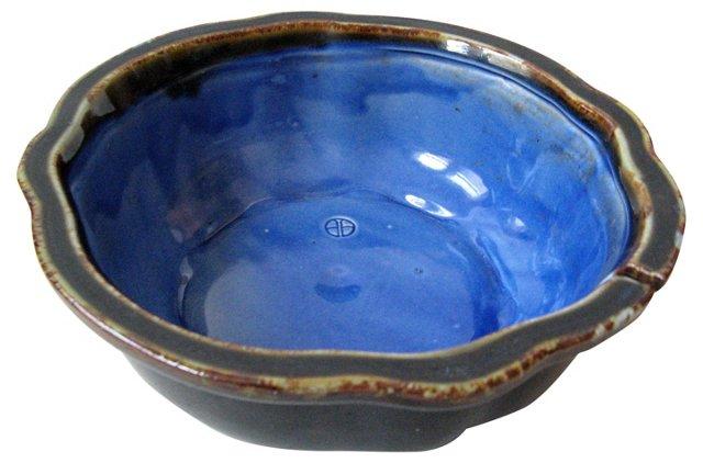 Studio Pottery Glazed Bowl