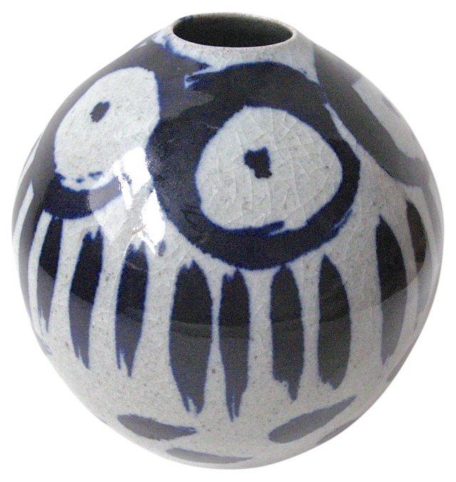 Modernist Asian Vase