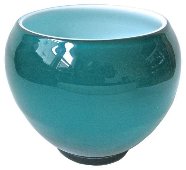 Cased Glass Bowl