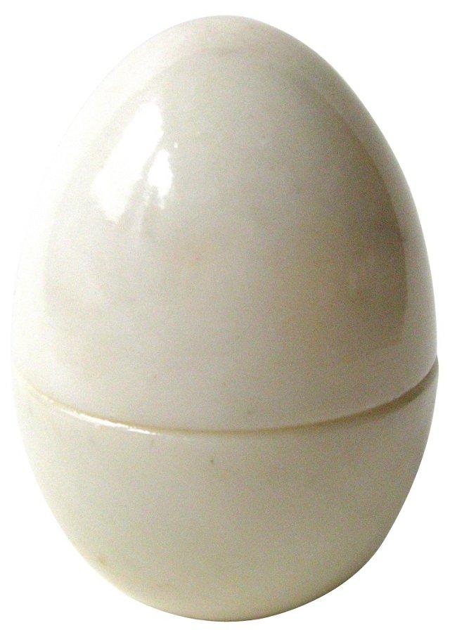 Italian Alabaster Egg Box