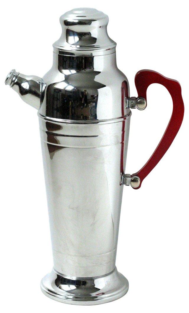 Chrome & Acrylic Cocktail Shaker