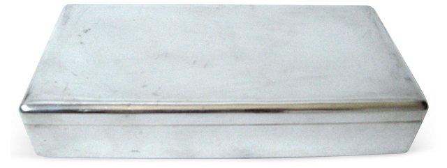 Silverplate Cigarette Box