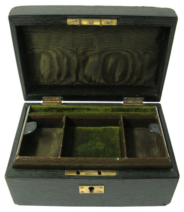 British Leather Travel Jewel Case