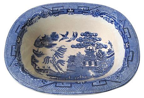 English Willow Bowl