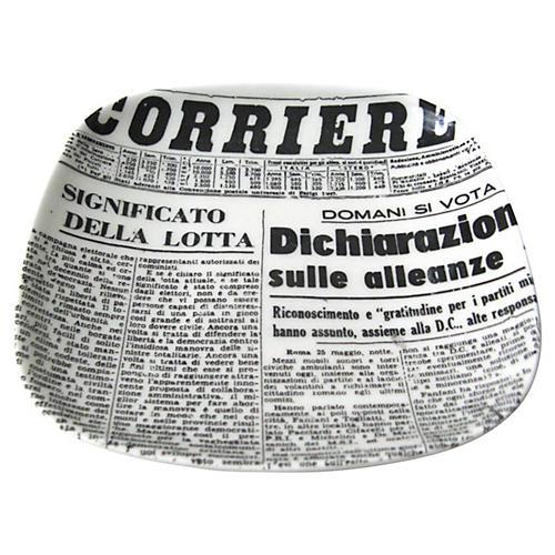 Paris Newsprint Pin Dish