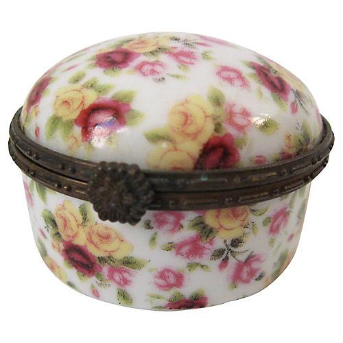 Limoges Chintz Box