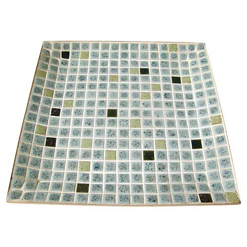 Midcentury Tile Tray