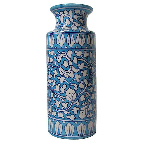 Jaipur Faience Vase